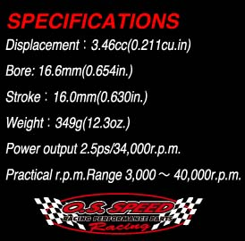 s speed 21vz b v spec: